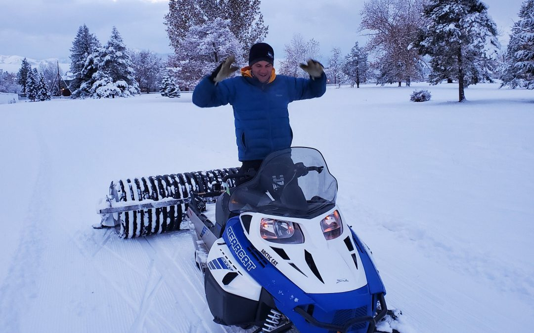 University Golf Course Groomed this Winter…Go Get it!